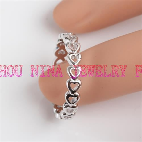 China sterling silver engagement rings for wholesale from factory